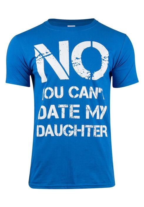 Men's Can't Date My Daughter Tee, ROYAL BLUE, hi-res