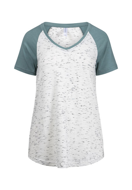 Women's V-Neck Baseball Tee