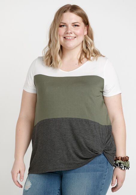Women's Twist Hem Top