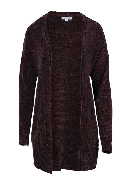 Ladies' Chenille Cardigan