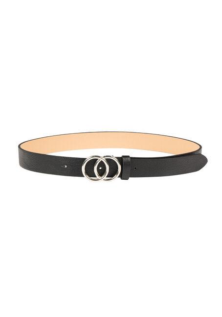 Women's Double Ring Buckle Belt