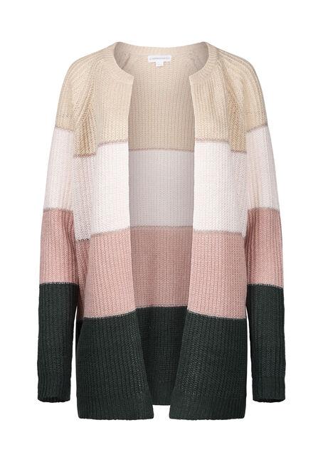 Women's Shimmer Stripe Cardigan