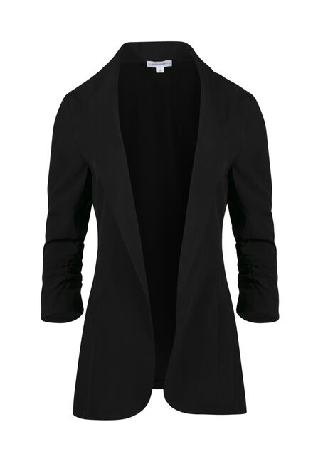 Ladies' Ruched Sleeve Blazer