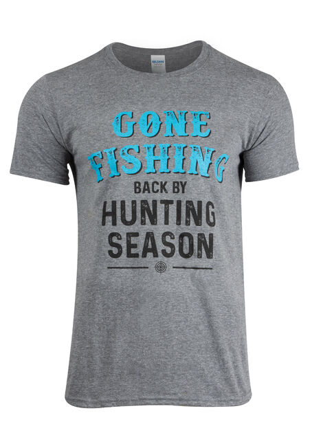 Men's Gone Fishing Tee