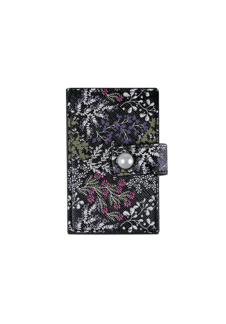 Women's Floral Card Holder