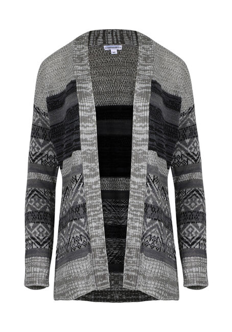 Ladies' Nordic Stripe Cardigan