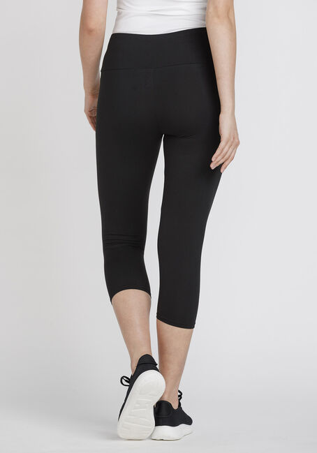 Women's Super Soft High Rise Capri Legging, BLACK, hi-res