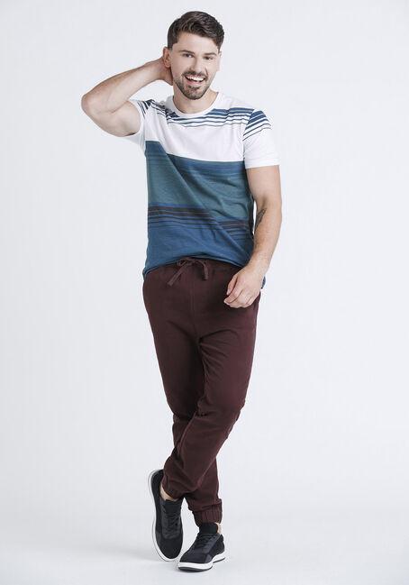 Men's Everyday Stripe Tee, DEEP TEAL, hi-res