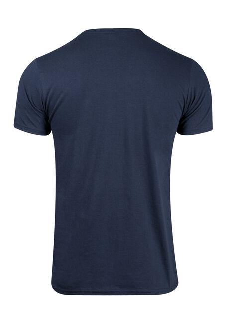 Men's Looking For Mute Tee, NAVY, hi-res