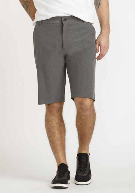 Poly Catonic Shorts - Grey