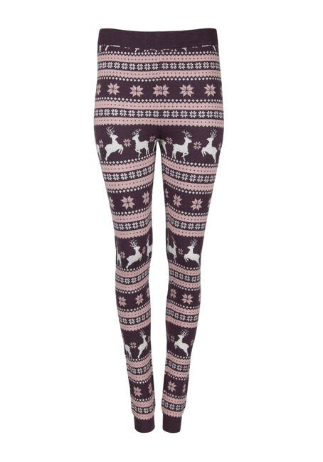 Women's Reindeer Sweater Legging