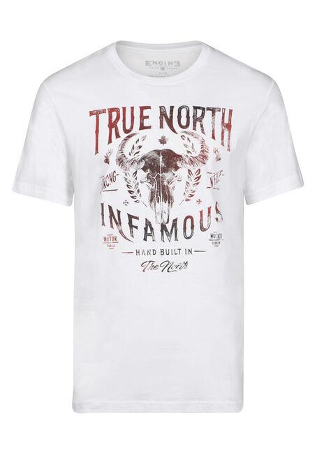 Men's True North Skull Tee