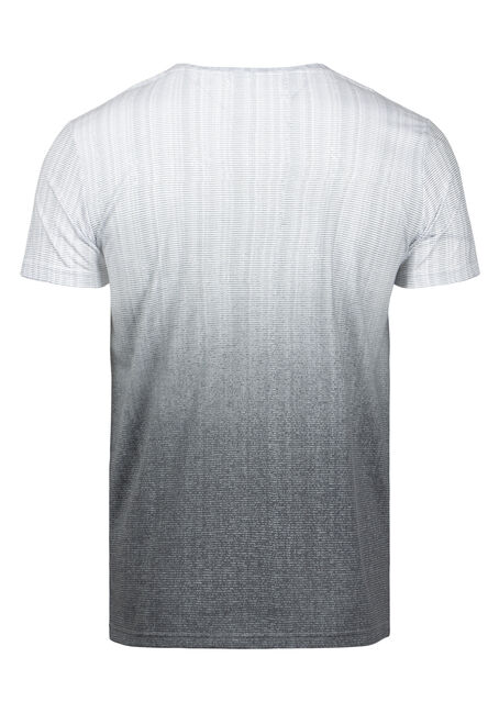 Men's Ombre Everyday V-Neck Tee, CHARCOAL, hi-res