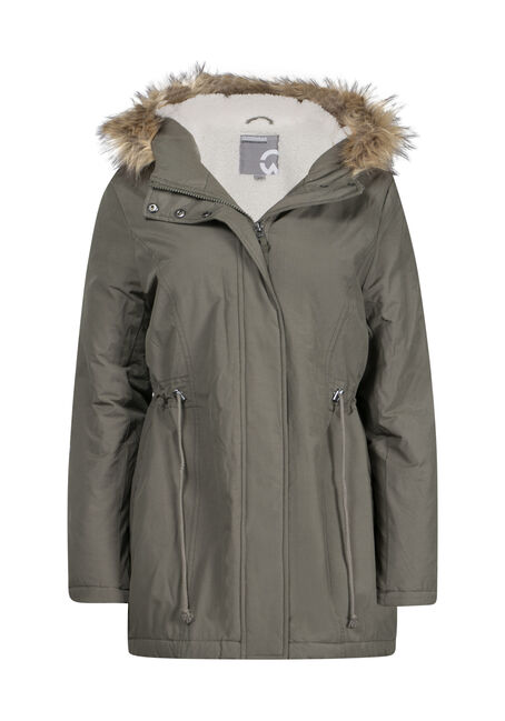 Women's Hooded Anorak Jacket