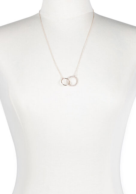 Ladies' Linked O Necklace