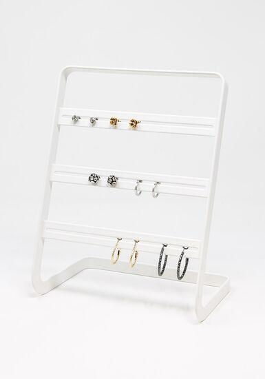 Women's multi pack earring set, SILVER, hi-res