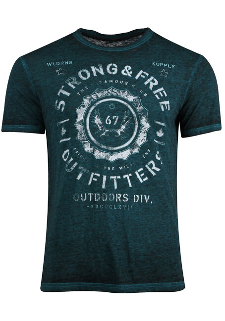 Men's Strong & Free Tee
