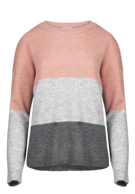 Women's Colour Block Sweater