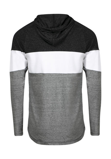 Men's Everyday Hooded Tee, WHITE, hi-res