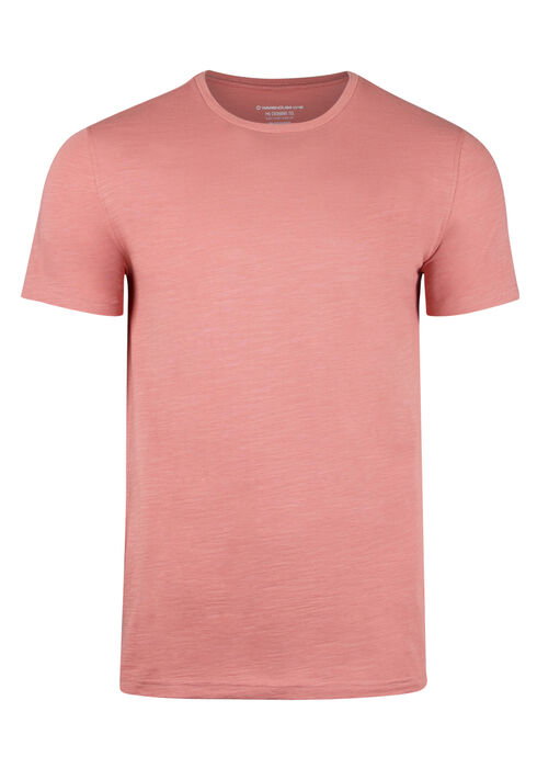 Men's Everyday Crew Neck Tee, CORAL, hi-res