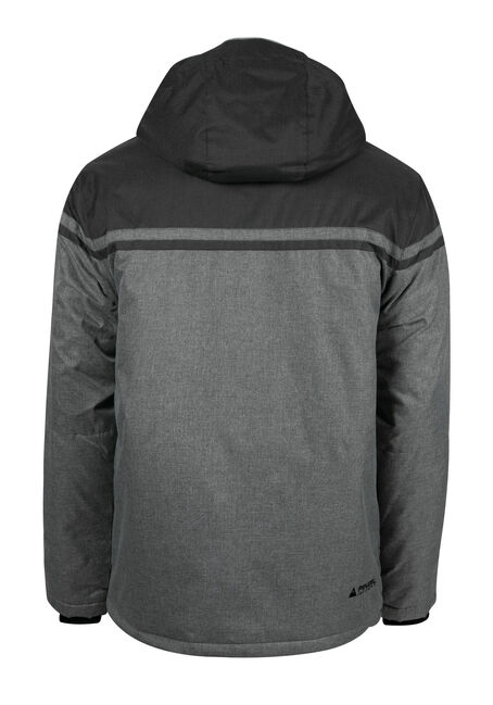 Men's Athletic Ski Jacket, GREY, hi-res