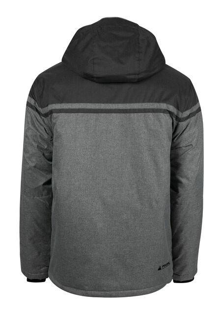 Men's Athletic Ski Jacket, GREY, hi-res