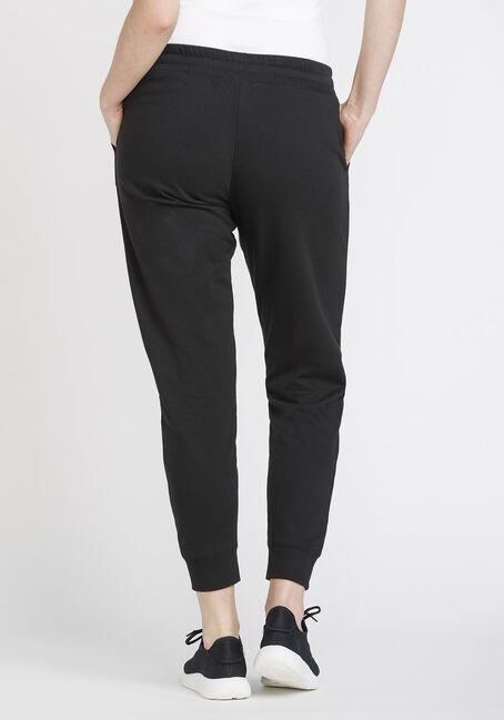 Women's Fleece Jogger, BLACK, hi-res