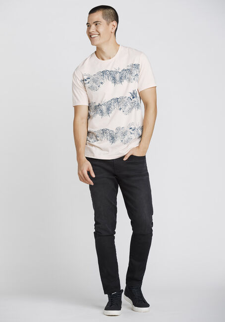 Men's Everyday Tropical Crew Neck Tee, PALE PINK, hi-res