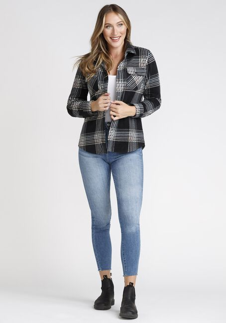 Women's Plaid Shacket