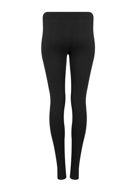 Women's Wide Waistband Legging, BLACK, hi-res
