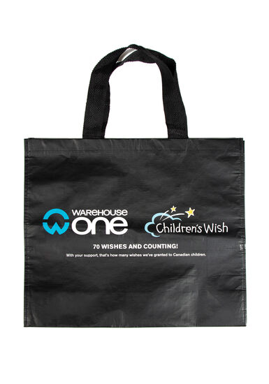 Children's Wish Re-Usable Shopping Bag, NO COLOR, hi-res