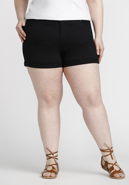Women's Plus Size Coloured Not-So-Short Short