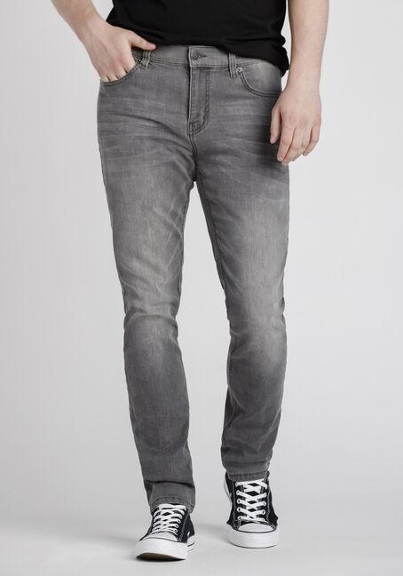 Men's Stone Grey Skinny Jeans
