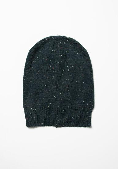 Women's Slouchy Hat, DENIM/NAVY, hi-res