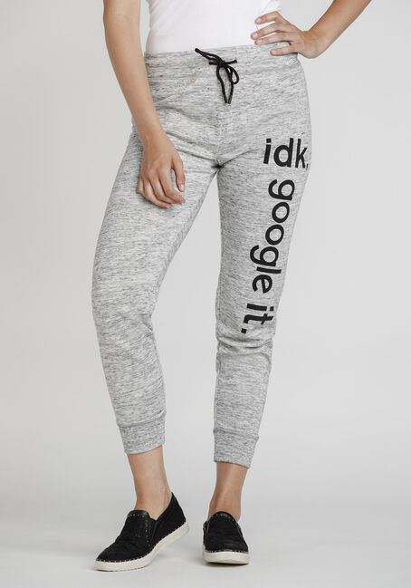 Women's IDK Google It Jogger