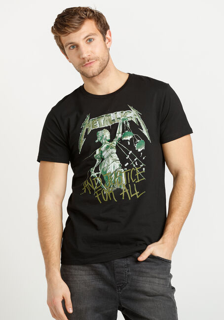 Men's Metallica Justice Tee