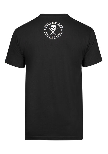 Men's Sullen Cards Graphic Tee, BLACK, hi-res