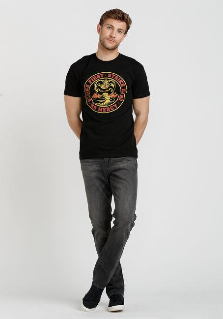Men's Cobra Kai Tee, BLACK, hi-res