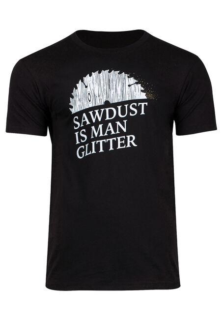 Men's Man Glitter Tee
