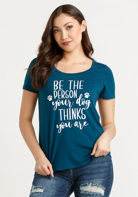 Women's Be The Person Scoop Neck Tee