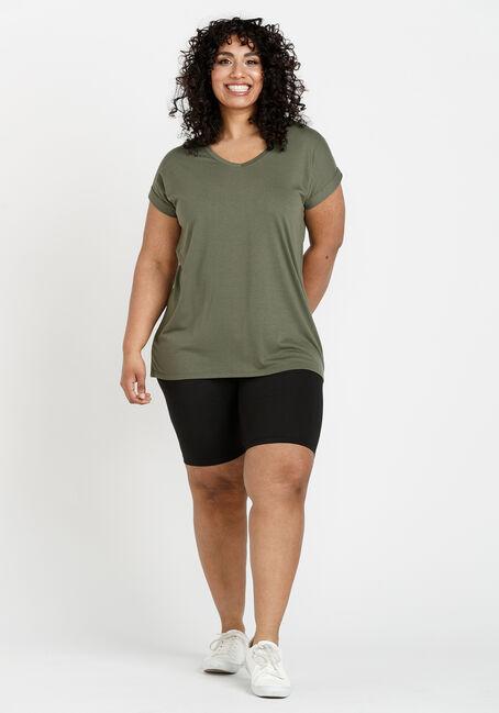 Women's Legging Tee, MOSS, hi-res