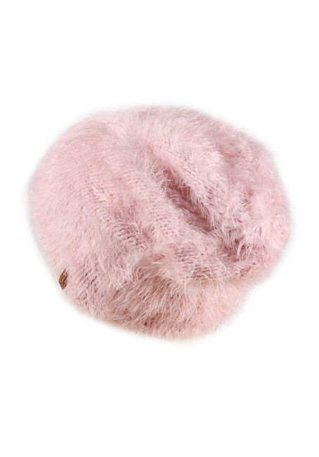 Ladies' Faux Fur Hat, PALE PINK, hi-res