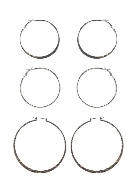 Women's Trio Earring Set