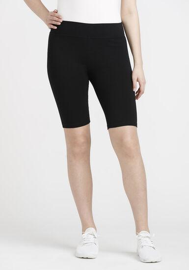 Women's Biker Short, BLACK, hi-res