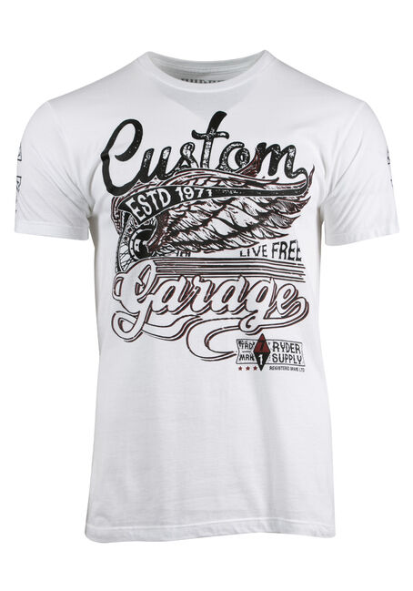 Men's Custom Garage Tee