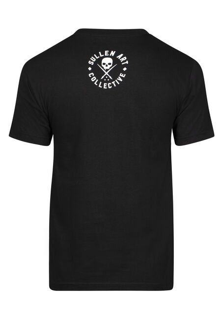Men's Sullen Skull Graphic Tee, BLACK, hi-res