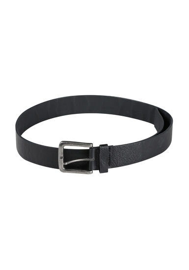 Men's Essential Black Belt, BLACK, hi-res