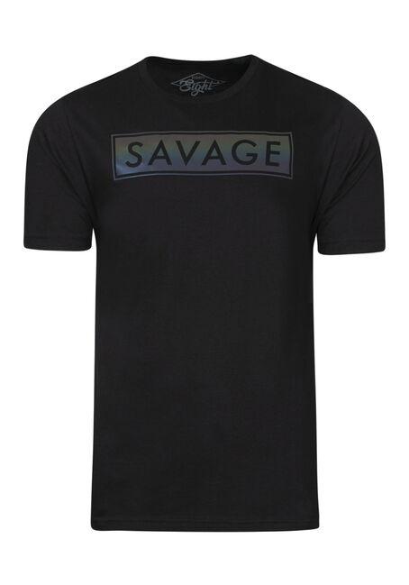 Men's Reflective Savage Tee