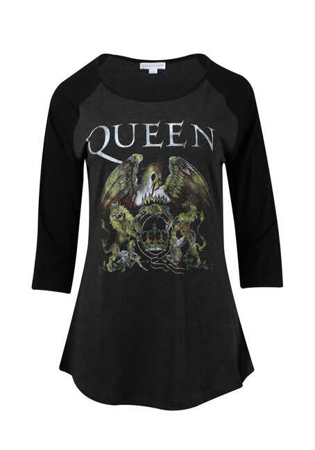 Ladies' Queen Baseball Tee