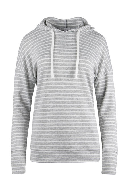Ladies' Super Soft Stripe Hoodie